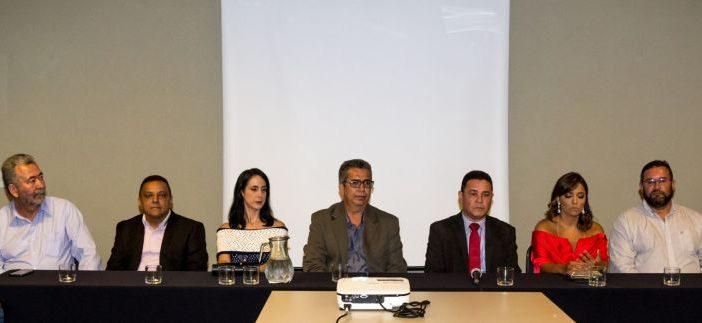 Fenajud marca presença na posse da nova diretoria do Serjal