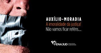 Fenajud lança petição on line contra auxílio-moradia e mobiliza sociedade contra privilégio