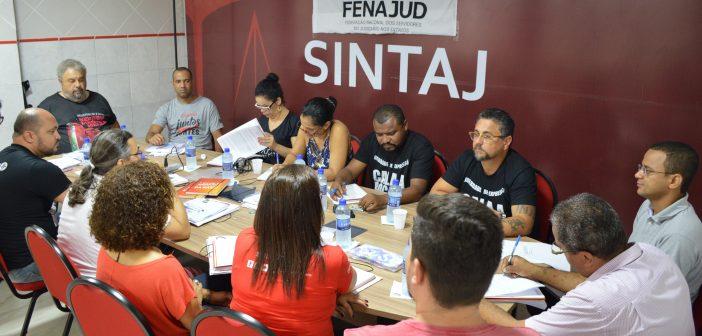 Sintaj recebe Fenajud para Conselho Extraordinário e Encontro de Comunicação