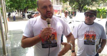 Secretário-Geral da Fenajud fortalece ato contra perseguição sindical no Ceará