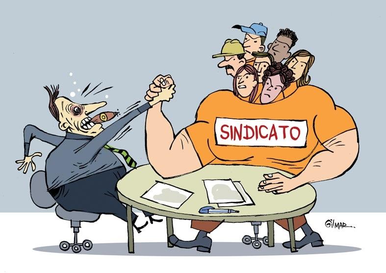 TRABALHADORES SINDICALIZADOS E UNIDOS