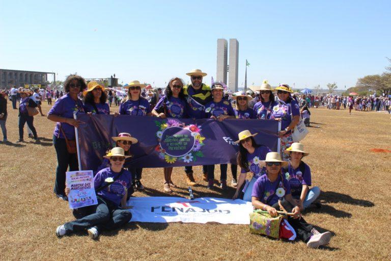 Trabalhadoras do Judiciário se unem a 100 mil mulheres na Marcha das Margaridas