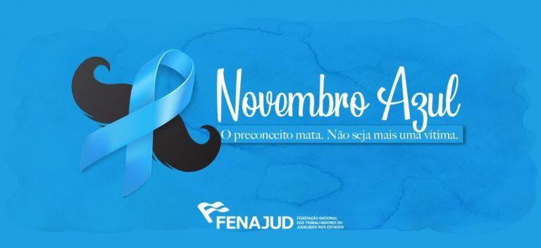 Novembro Azul: o preconceito mata. Não seja mais uma vítima.